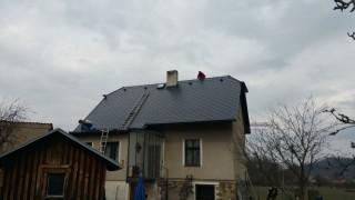 Finalizace nové střechy