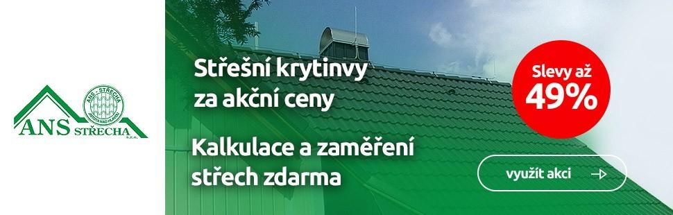 Akce na střechy